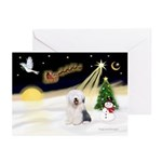Night Flight/OES #2 Greeting Cards (Pk of 10)