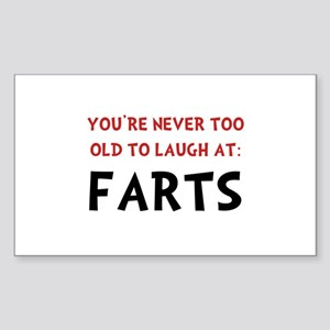 Laugh Fart Sticker