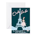 Paris Queenie Greeting Cards (Pk of 10)