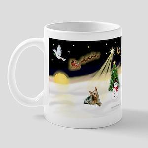 Night Flight/ Silky Ter 14 Mug