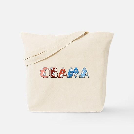 Starry 1920s Obama Tote Bag