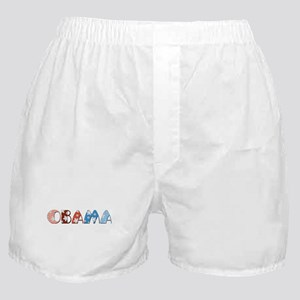 Starry 1920s Obama Boxer Shorts