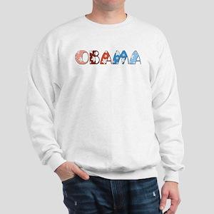 Starry 1920s Obama Sweatshirt