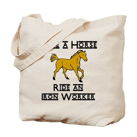 Iron Worker Tote Bag