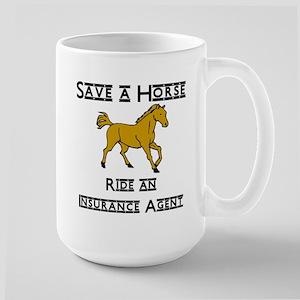 Insurance Agents Large Mug