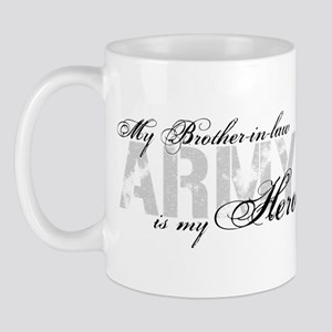 Brother-in-law is my Hero ARMY Mug