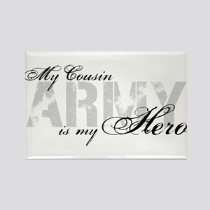 Cousin is my Hero ARMY Rectangle Magnet
