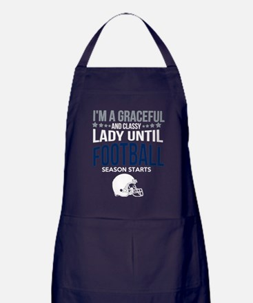 Unique Football Apron (dark)
