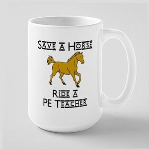 PE Teacher Large Mug