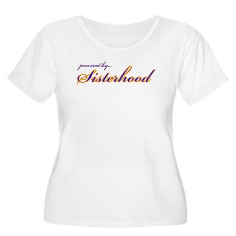 SGRho Sisterhood Women's Plus Size Scoop Neck T-Sh