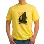 Play me if you dare Yellow T-Shirt