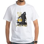 Play me if you dare (9 ball) White T-Shirt