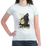 Play me if you dare (9 ball) Jr. Ringer T-Shirt