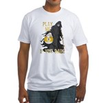 Play me if you dare (9 ball) Fitted T-Shirt
