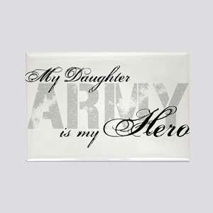 Daughter is my Hero ARMY Rectangle Magnet
