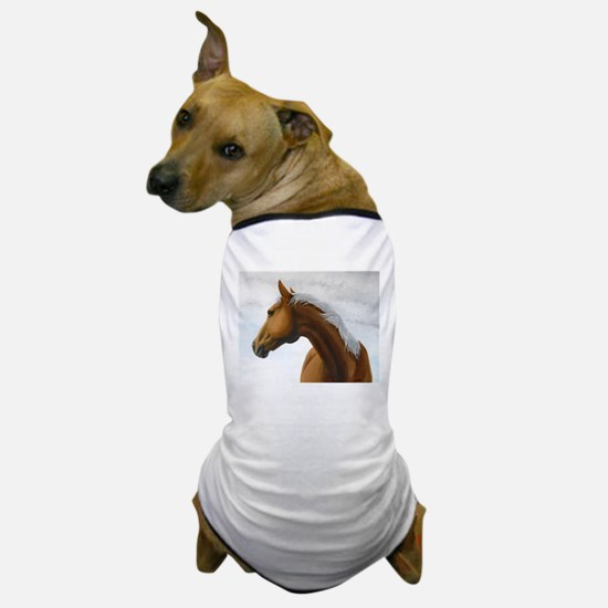 Palomino Stallion Dog T-Shirt