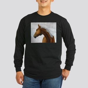 Palomino Stallion Long Sleeve Dark T-Shirt