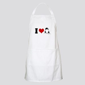 I Love Mullets ~  BBQ Apron