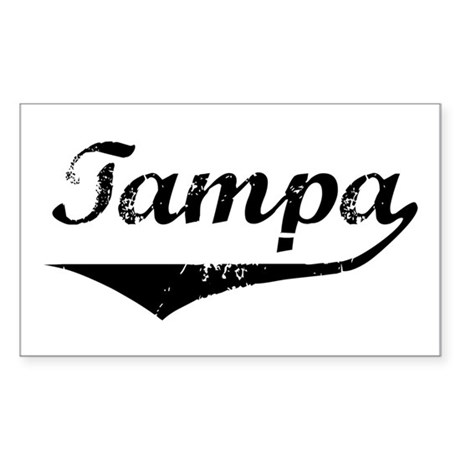 Tampa Rectangle Sticker