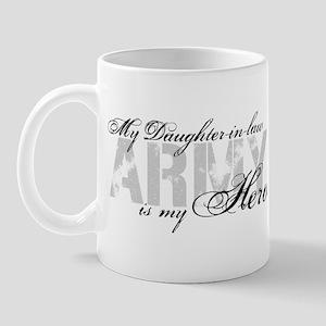 Daughter-in-law is my Hero ARMY Mug