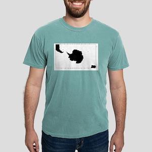 Antartic Map T-Shirt