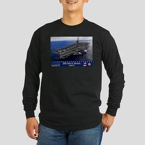 USS John C. Stennis CVN-74 Long Sleeve Dark T-Shir
