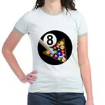8 Ball Jr. Ringer T-Shirt