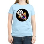 8 Ball Women's Light T-Shirt