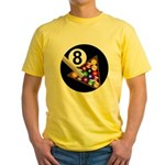 8 Ball Yellow T-Shirt