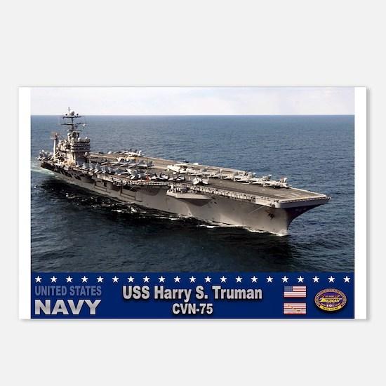 USS Harry S. Truman CVN-75 Postcards (Package of 8