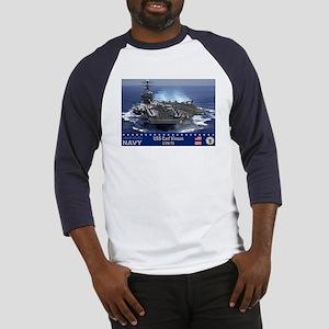 USS Carl Vinson CVN-70 Baseball Jersey
