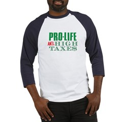 Pro-Life Anti-Tax Baseball Jersey