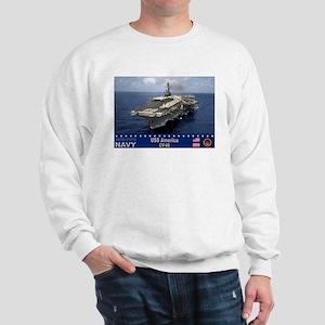 USS America CV-66 Sweatshirt