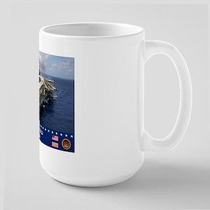 USS America CV-66 Large Mug