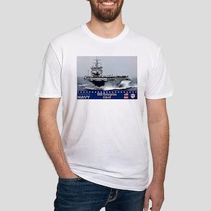 USS Enterprise CVN-65 Fitted T-Shirt