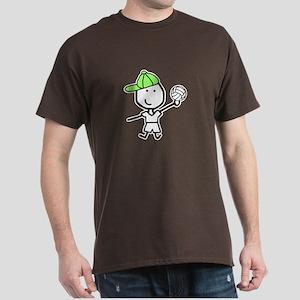 Boy & Volleyball Dark T-Shirt