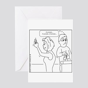 Funny bridal shower greeting cards cafepress greeting card m4hsunfo