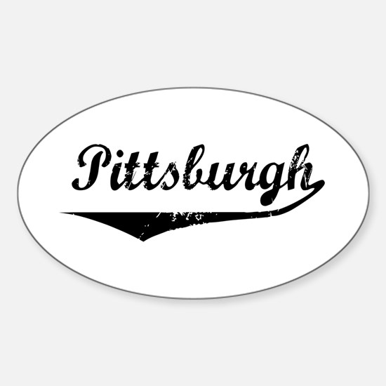 Pittsburgh Oval Decal