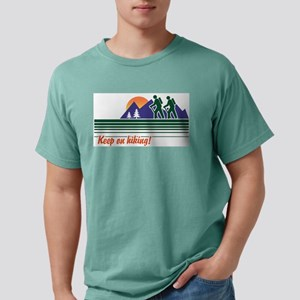 Keep on Hiking Ash Grey T-Shirt