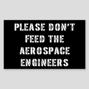 Aerospace Engineer Rectangle Sticker