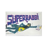 SUPER RABBI Rectangle Magnet (10 pack)