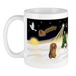 Night Flight/Dachshund LH Mug