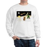 Night Flight/Dachshund LH Sweatshirt