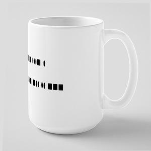 """""""I love ham radio"""" Large Mug"""