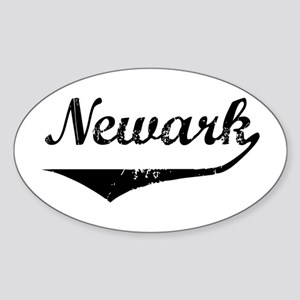 Newark Oval Sticker