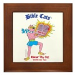 BIBLE CATS Framed Tile