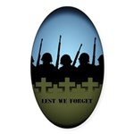 Lest We Forget Stickers 50 pack War Memorial Gifts