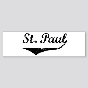 St. Paul Bumper Sticker