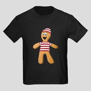 Gingerbread Sailor Kids Dark T-Shirt
