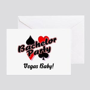 Bachelor Party (Vegas Baby) Greeting Card